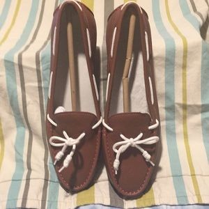 NWOT Cole Haan Tan leather loafers